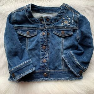 Mayoral baby jean jacket!